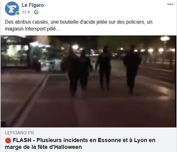 Haloween à Lyon