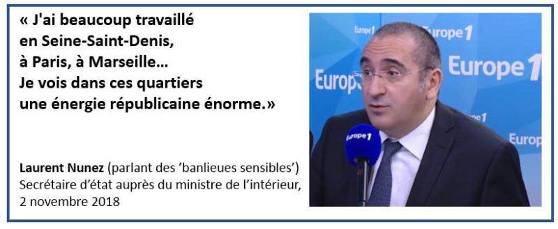 Laurent Nunez - une énergie républicaine énorme