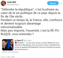 Louis Riel - TWEET 12.12.2018