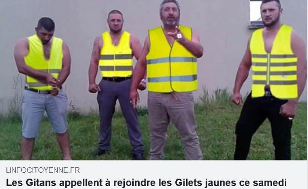 Gitans Gilets Jaunes