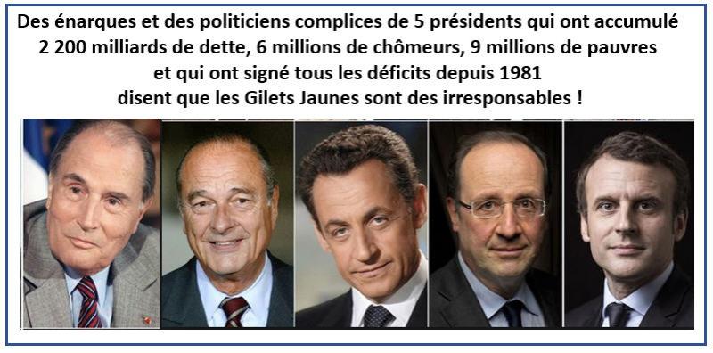 5 présidents