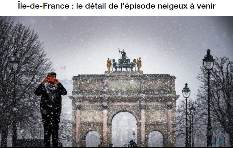 Episode neigeux