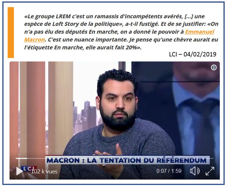 Yassine Belattar LCI 04.02.2019