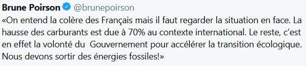 Tweet de Brune Poirson