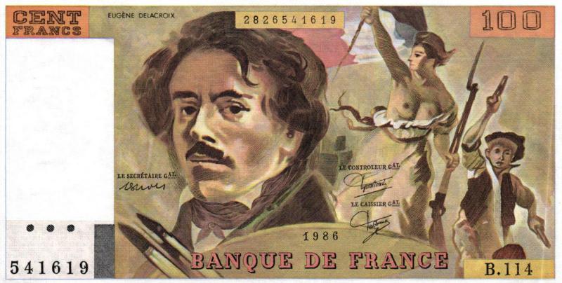 Billet de 100 francs