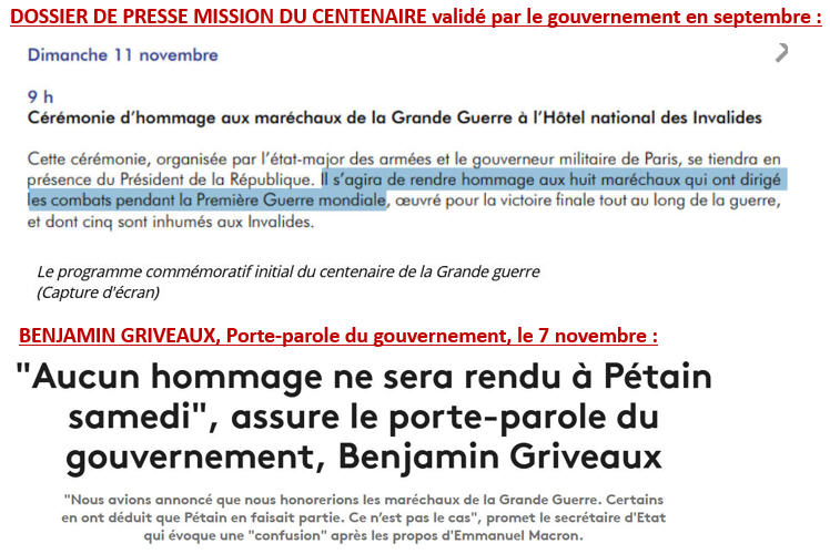 Pétain - Griveaux