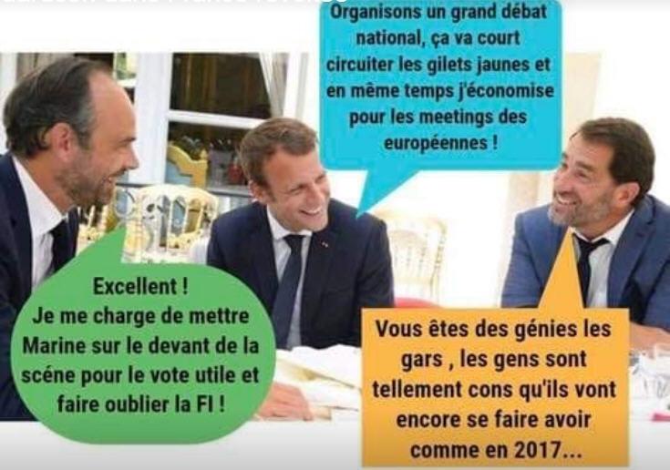 Philippe Macron Castaner