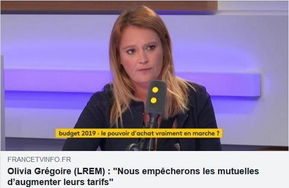 Olivia Grégoire - députée LREM
