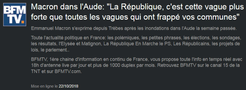 Macron Aude Métaphore vaseuse