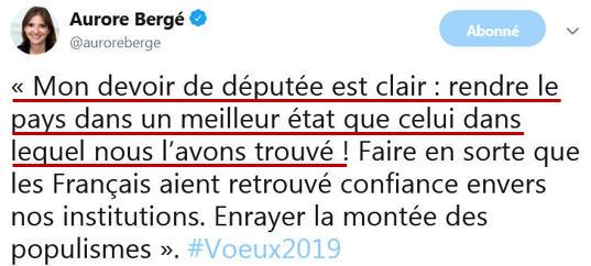 Aurore Bergé Le Perray - 31.01.2019-2