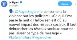 Ségolène Royal au sujet des réseaux sociaux