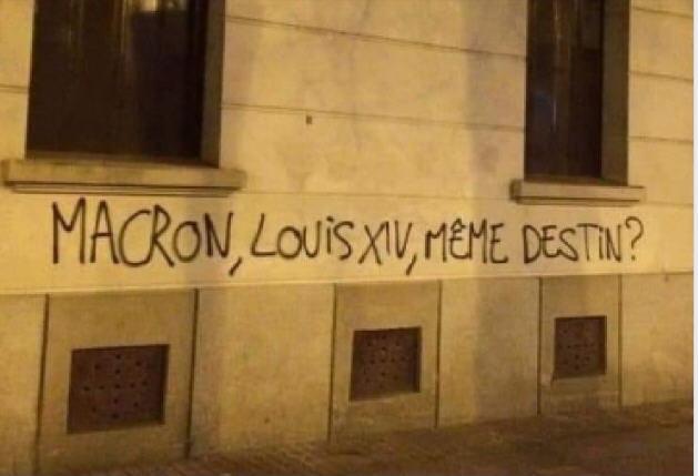 Macron Louis XIV même destin