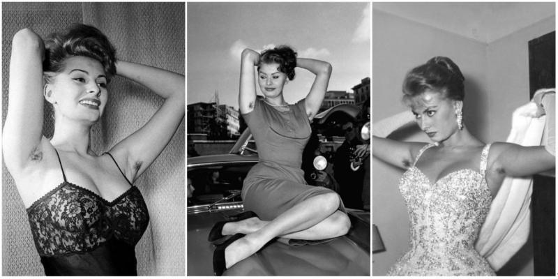 Honneur aux poilues - Sophia Loren