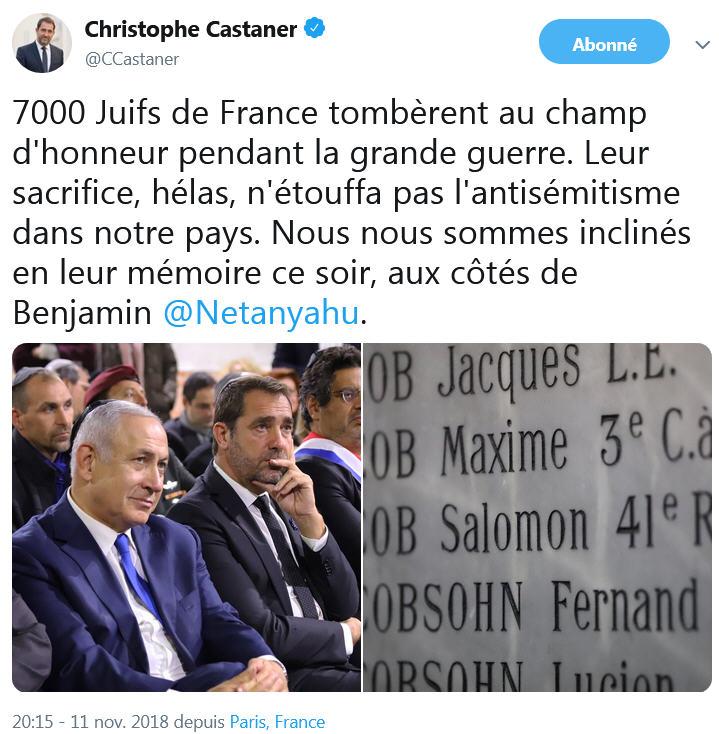 Castaner - 7 000 juifs de France