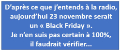 Black Friday 23.11.2018