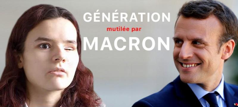Macron - la jeunesse mutilée