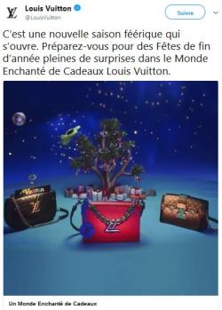 Louis Vuitton un monde enchanté de cadeaux