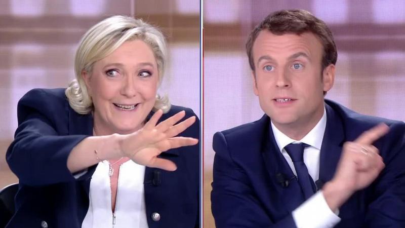 Le Pen - Macron -deuxième tour 2017