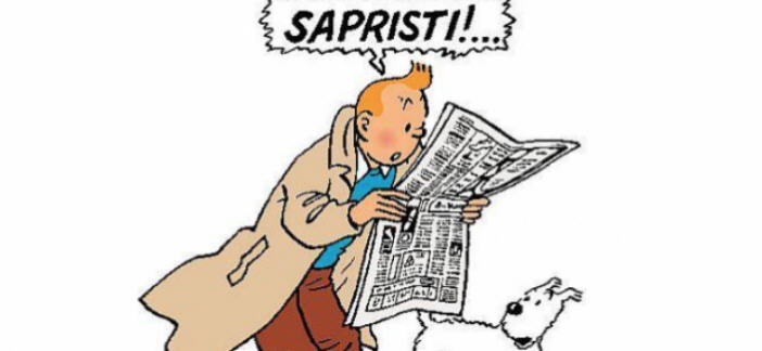 Sapristi - Tintin