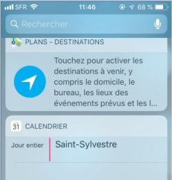 Ecran iPhone St Sylvestre