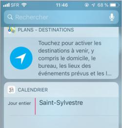 Ecran iPhone St Sylvestre
