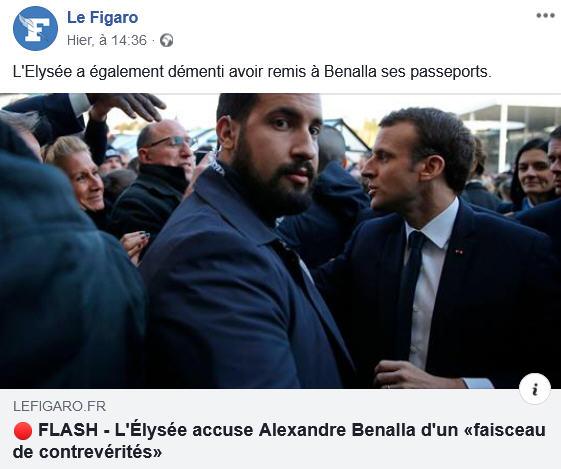 Macron-Benalla un concours de menteurs