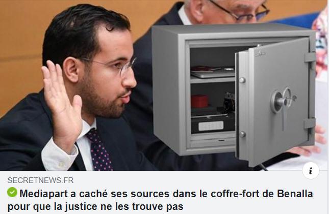 Mediapart a caché ses sources dans le coffre