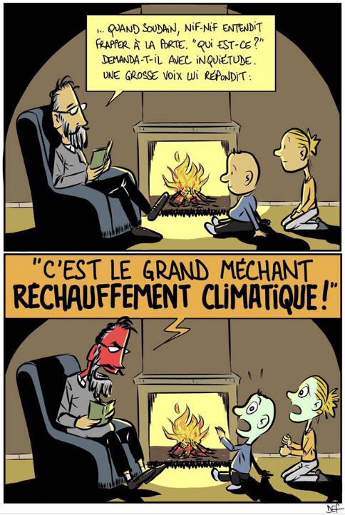 Le grand réchauffement climatique