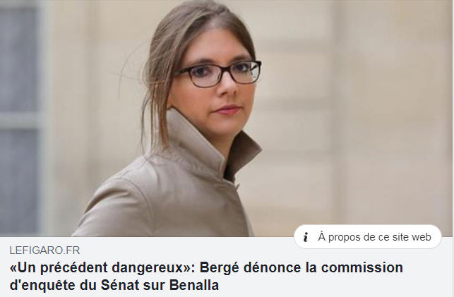 Bergé - Un précédent dangereux