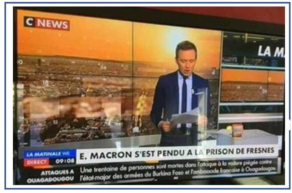 Macron s'est pendu à Fresnes