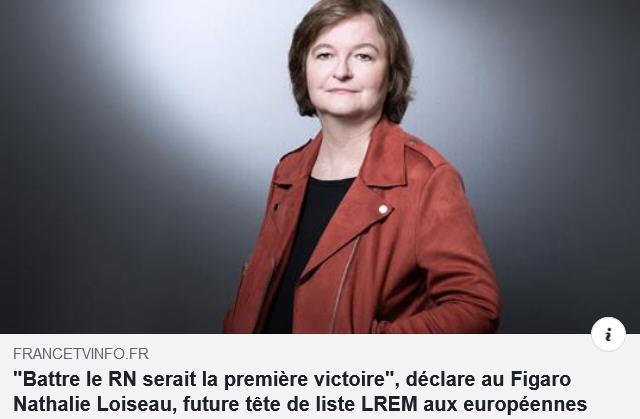 Nathalie Loiseau - Battre le RN