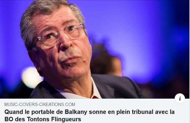 Le portable de Balkany
