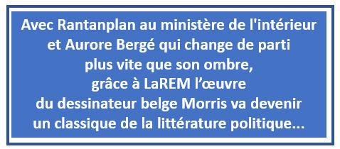 Rantanplan et Aurore Bergé