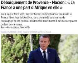 La France a une part d'Afrique en elle