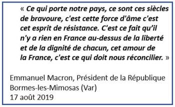 Macron - ce qui doit nous réconcilier