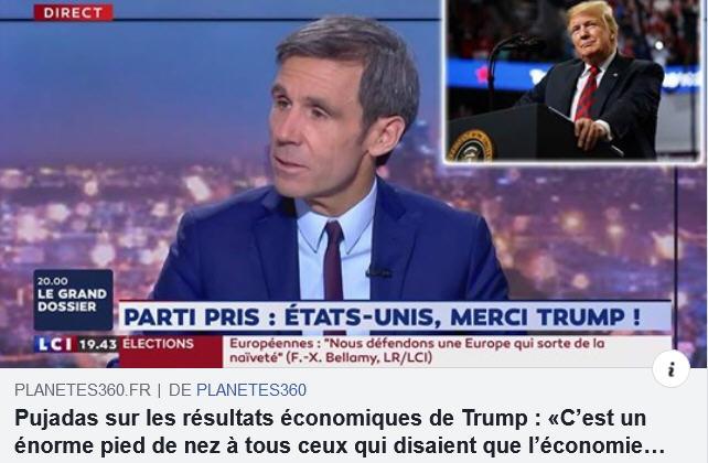 Pujadas LCI sur Trump
