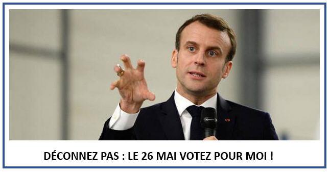 Macron le 26 votez pour moi