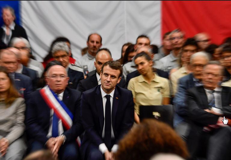 Macron Gréoux-les-Bains - 07.03.2019