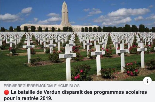 Verdun disparaît