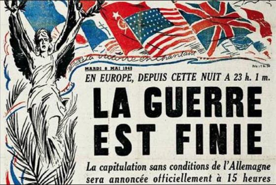 8 mai 1945 la guerre est finie