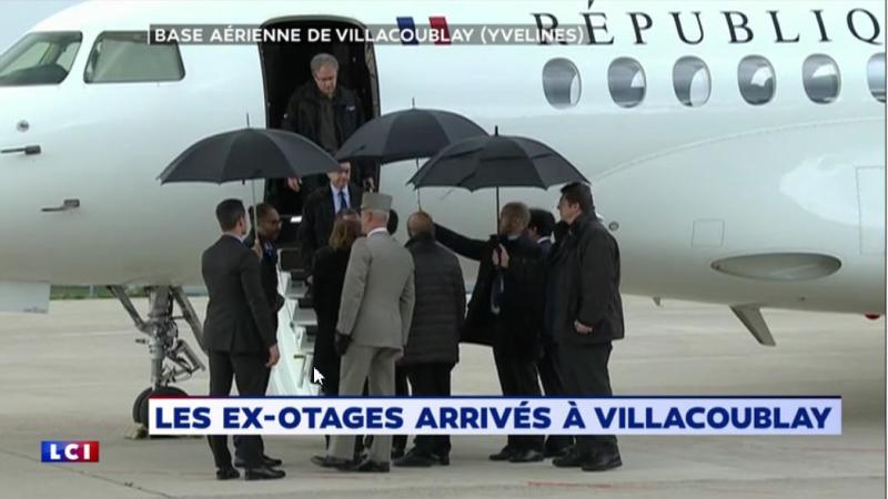 Otages accueillis à Villacoublay - 11.05.2019