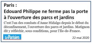 E. Philippe ne ferme pas la porte à l'ouverture