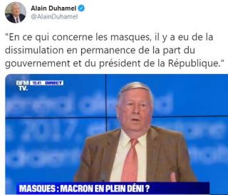 Alain Duhamel - Macron en plein déni -19.05.2020