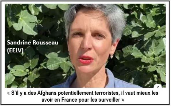 Sandrine Rousseau-surveiller les talibans