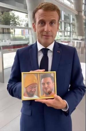 Macron et ses amis McFly et Carlito