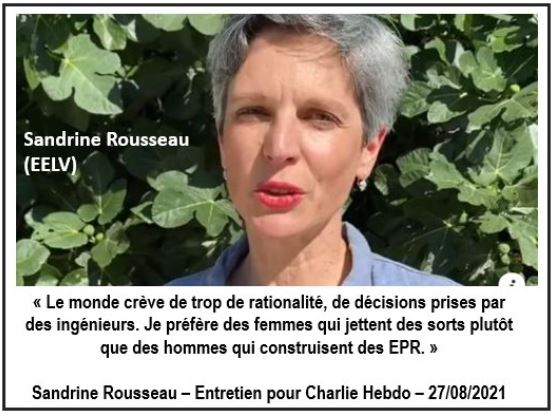 Sandrine Rousseau EELV - Le monde crève