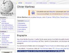 Martinezwikipedia