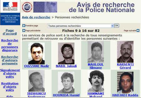 """Résultat de recherche d'images pour """"photos avis de recherche d ela police"""""""